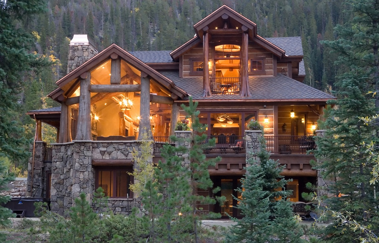 Log cabin designs usa design and ideas for Traditional log cabin plans