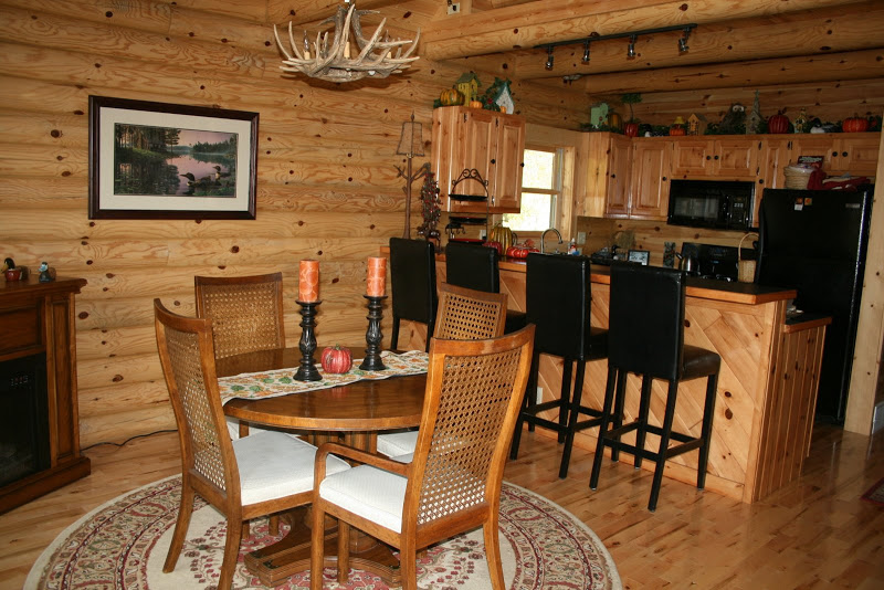 log cabin interior cleaning design and ideas