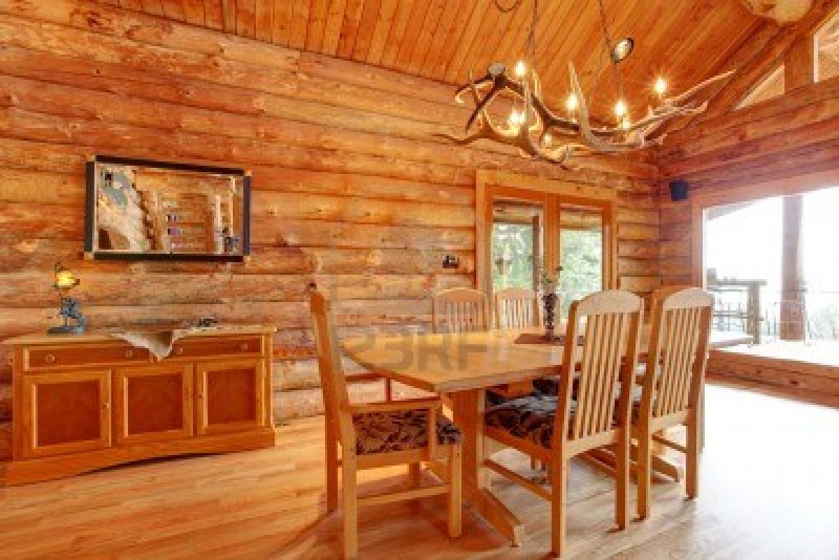 Log Cabin Interiors Walls Photo   2