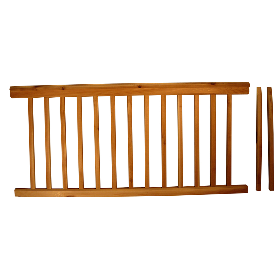 Metal deck railing at lowes design and ideas