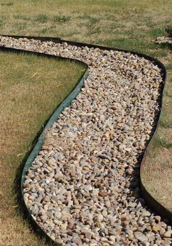 Metal Landscape Edging for Your Lawn