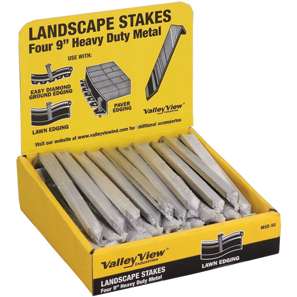Metal Landscape Edging Stakes