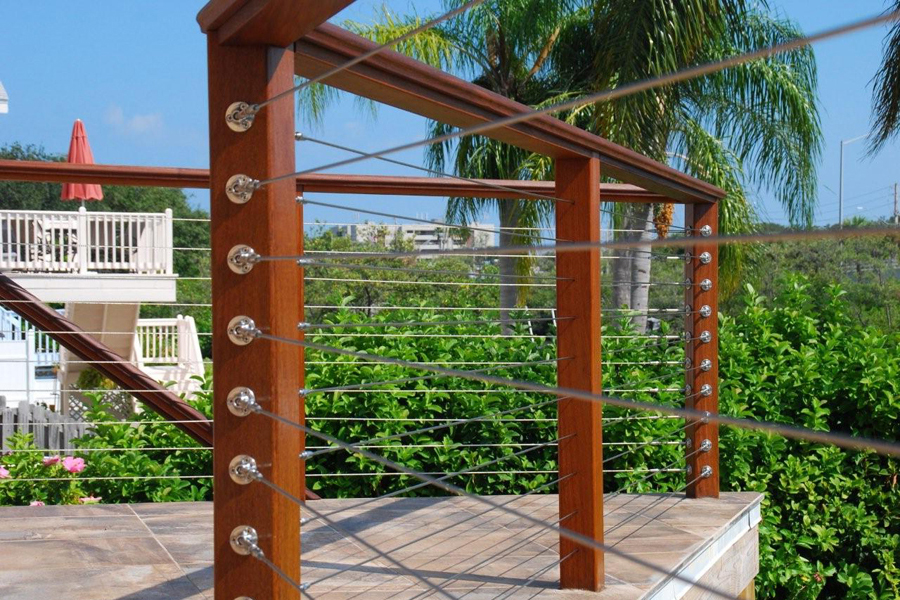 Wonderful White Cable Wire Railing Pictures Inspiration ...