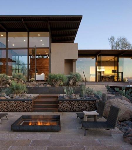 modern outdoor fire pit design - Modern Outdoor Fire Pit Design » Design And Ideas