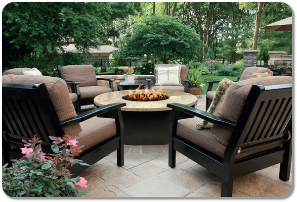 Outdoor Fire Pit Chairs Design and Ideas