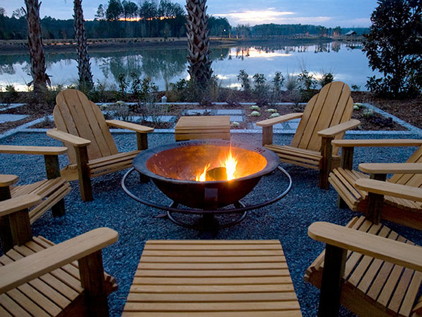 Outdoor Fire Pit Chairs  photo - 2