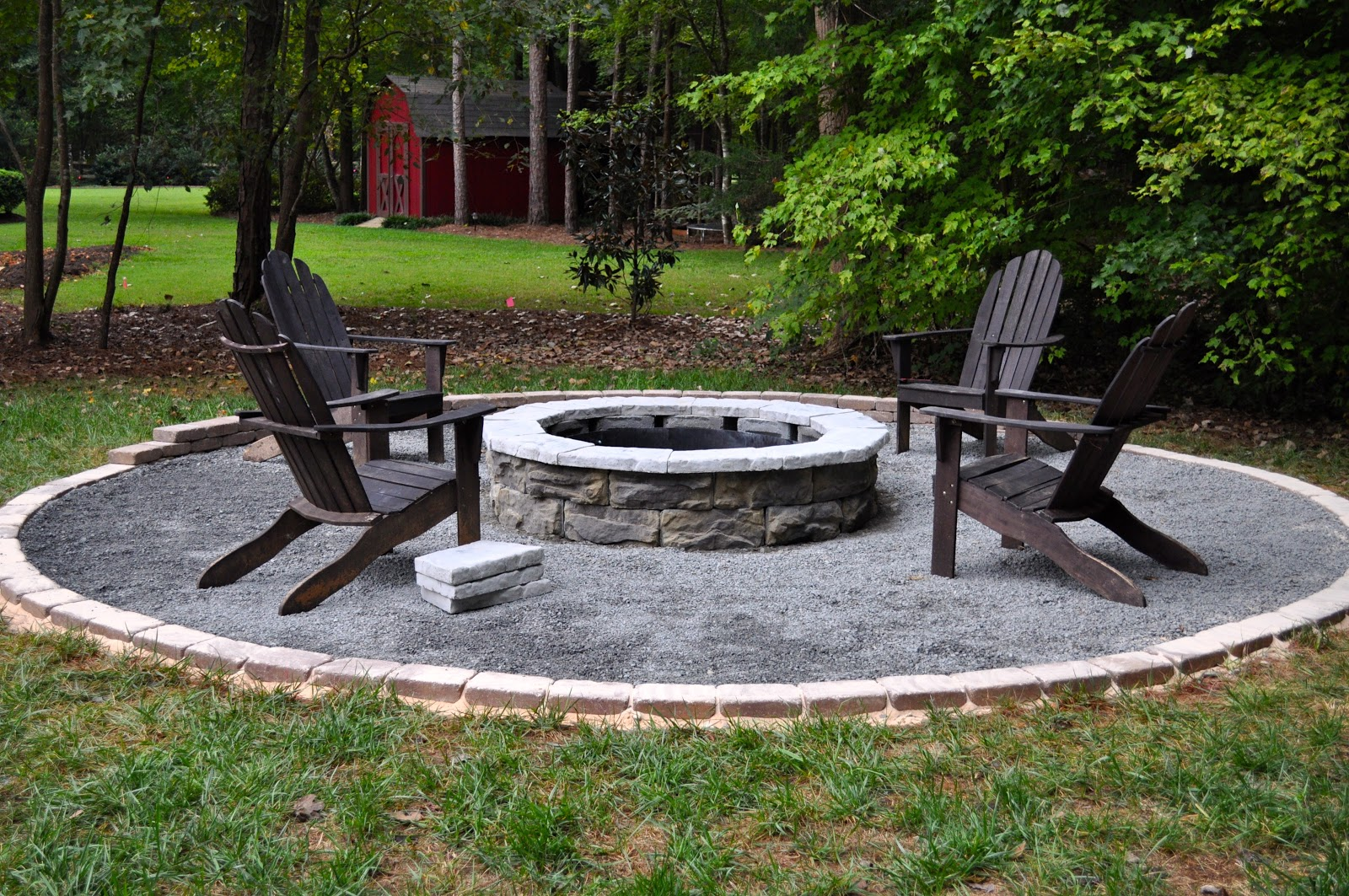 outdoor fire pit design diy