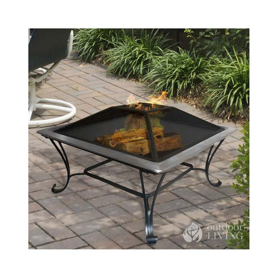outdoor fire pit grill designs
