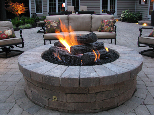 gas outdoor fire pit canada