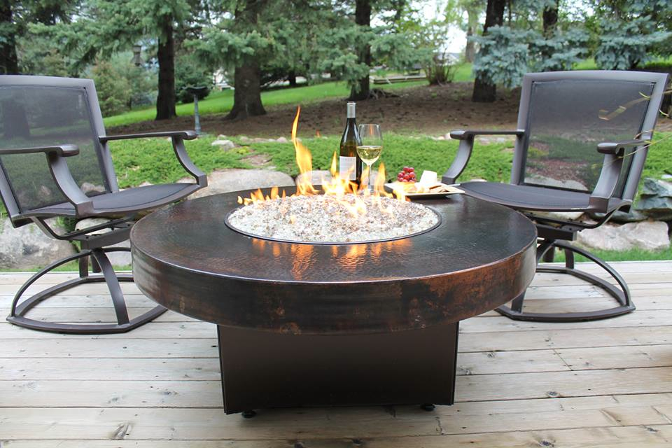 outdoor gas fire pit table and chairs Design and Ideas