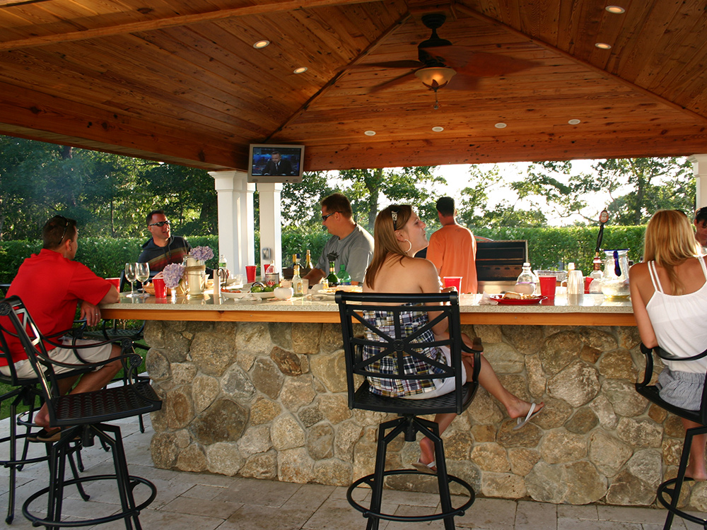 outdoor kitchen components corner options design and ideas