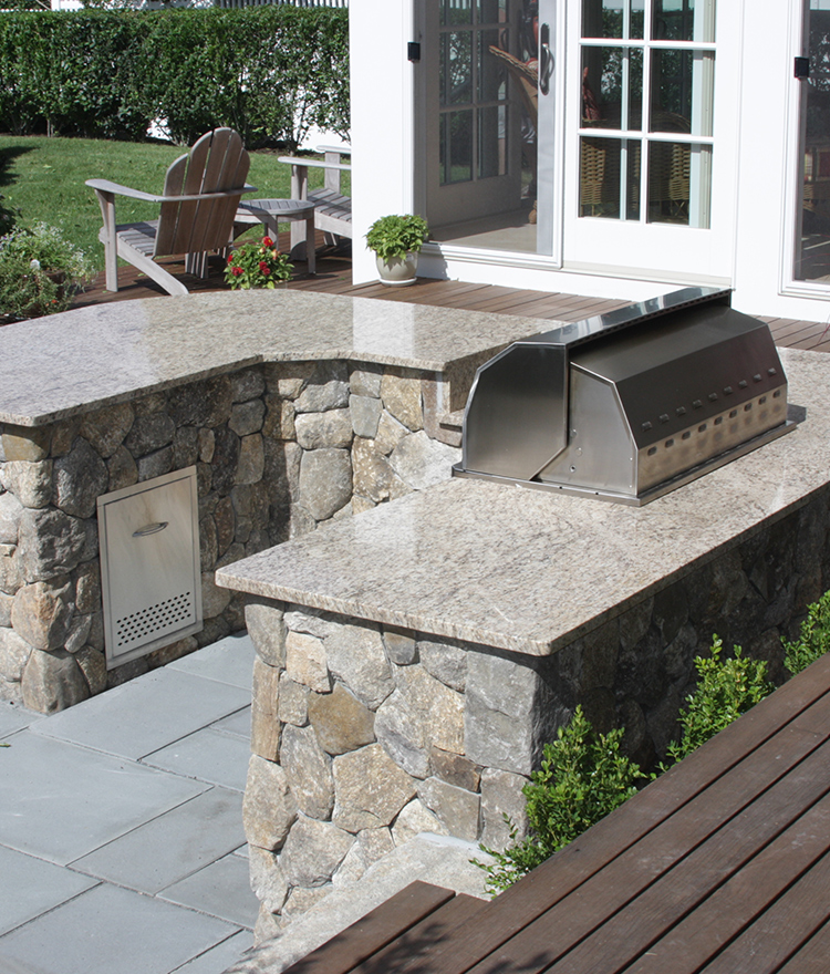 Outdoor Kitchen Components Part - 30: Outdoor Kitchen Components Corner Options Photo - 2
