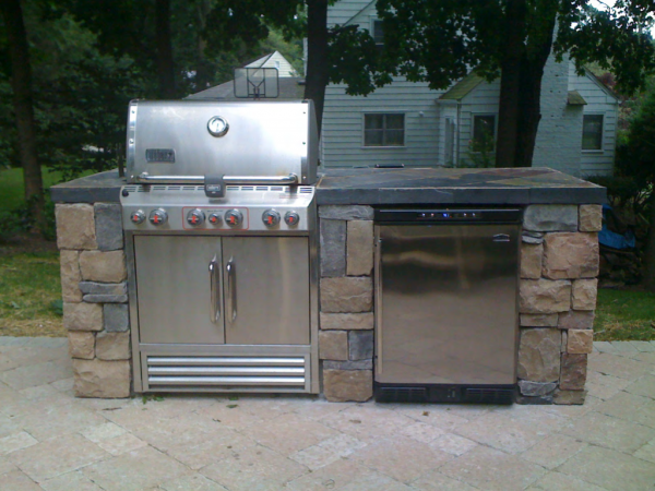 Outdoor Kitchen Components Grill Options