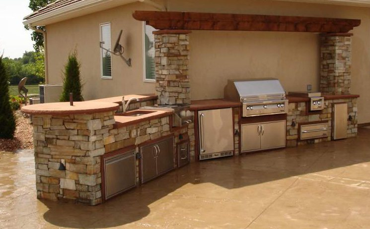 Outdoor Kitchen Components Outdoor Appliance Cabinets photo - 1
