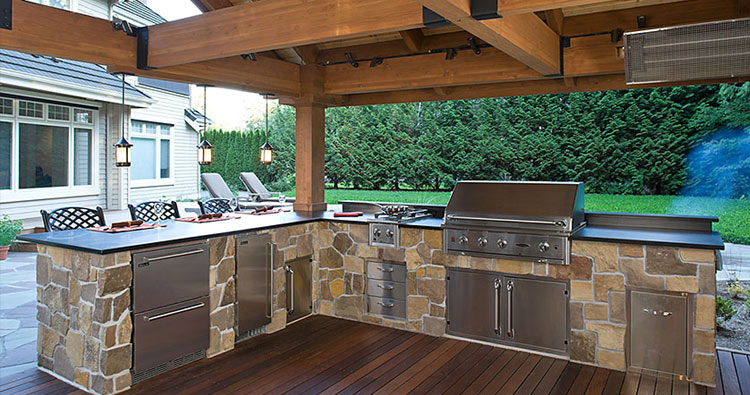 Outdoor Kitchen Designs The Oasis photo - 2
