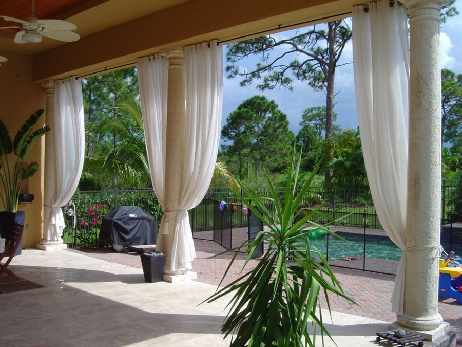 outdoor patio curtains drapes