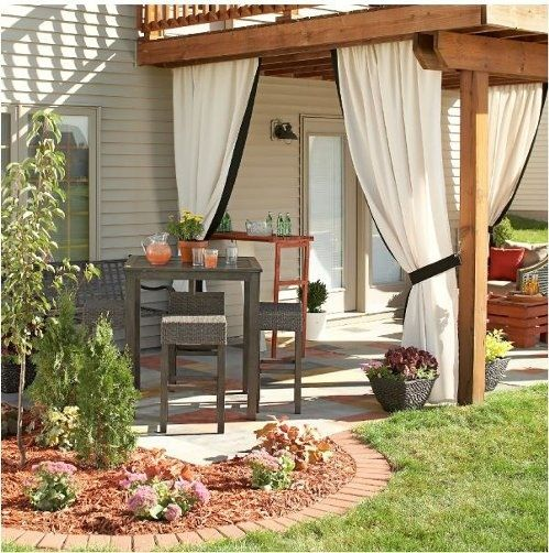 Outdoor Patio Curtains Pictures