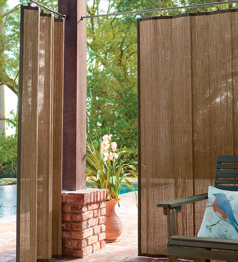 Outdoor Patio Curtains Uk Photo   2