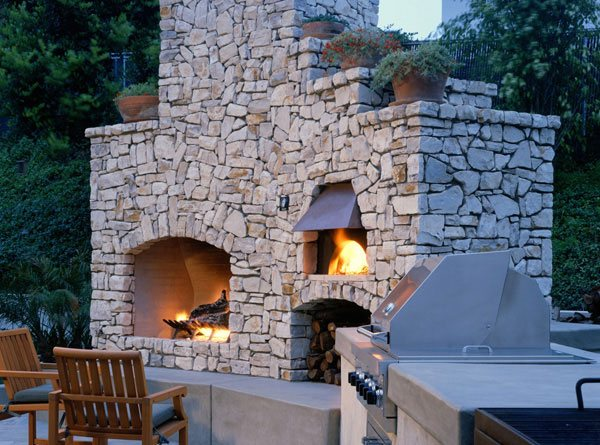Chiminea Fire Pit Pizza Oven » Design And Ideas