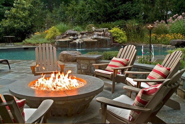 Outdoors Fire Pit Chairs