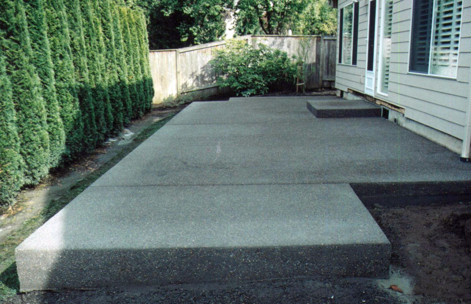 How To Build A Concrete Patio Slab Home Design Ideas And
