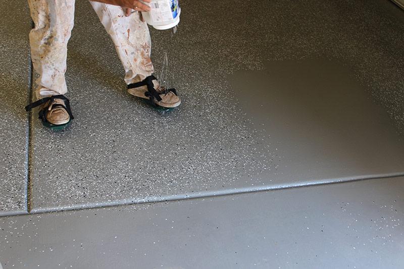 Painting Concrete Patio Deck