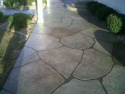 Charming Painting Concrete Patio Ideas Photo   2