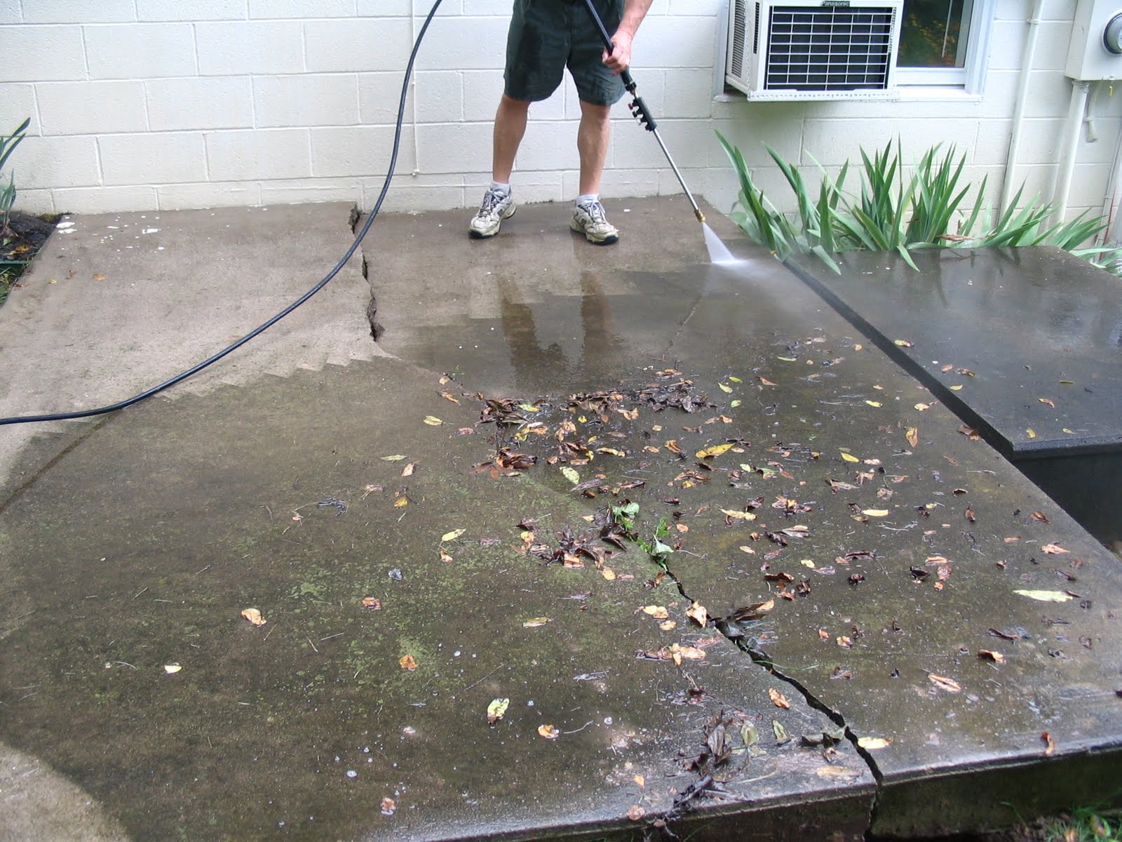 Painting A Concrete Patio Slab