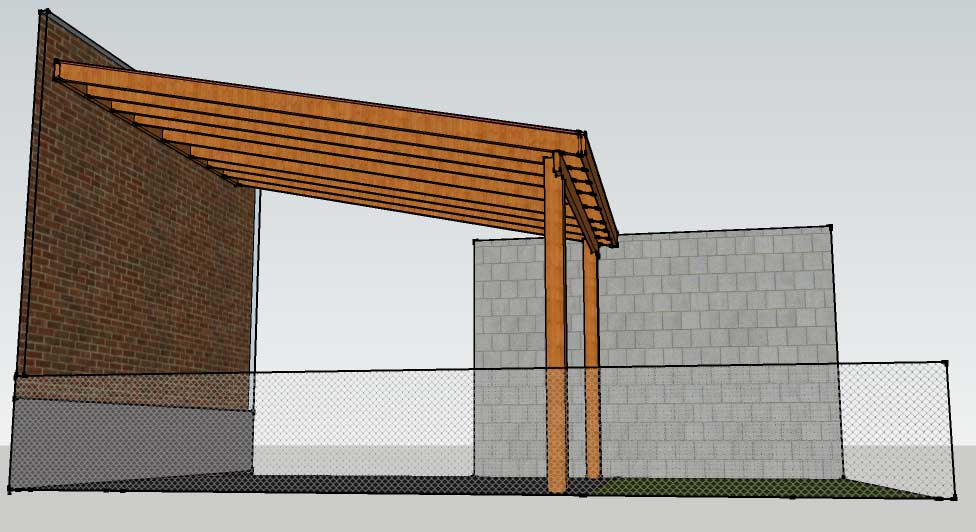 Patio cover wood plans design and ideas for Patio cover construction plans