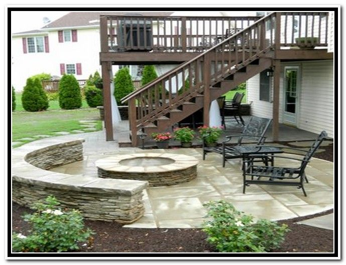 Patio Under A Deck Ideas