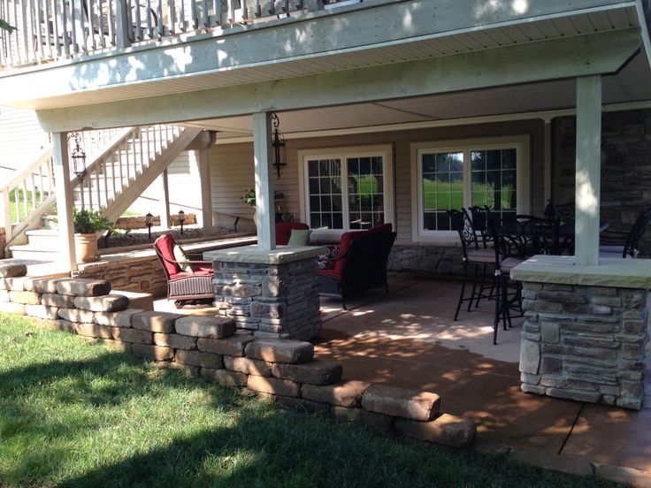 Patio Under Deck Ideas Design And Ideas
