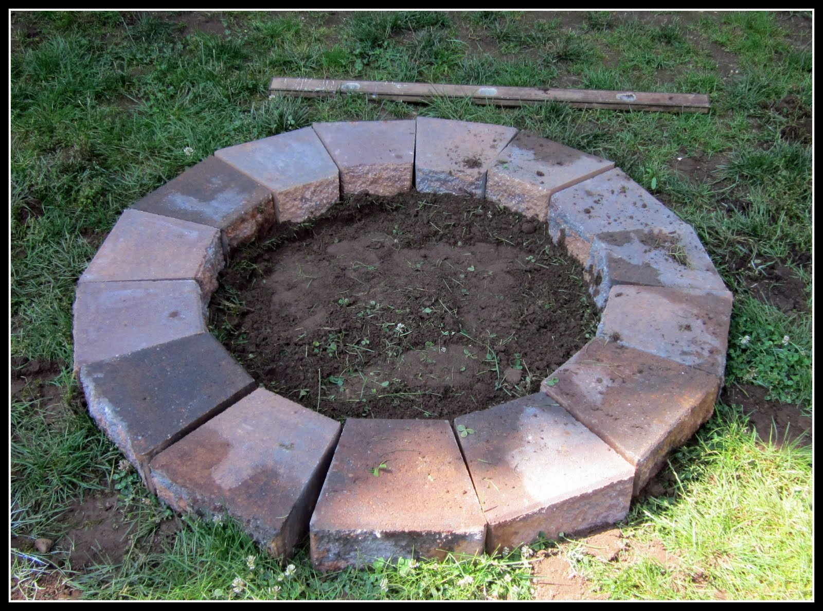 paver fire pit cover  photo - 2