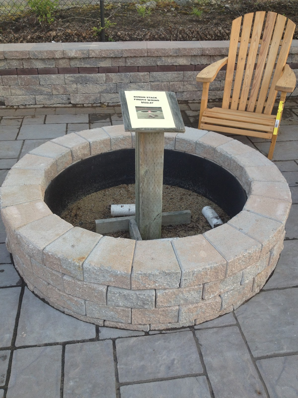 paver fire pit insert - Paver Fire Pit Insert » Design And Ideas