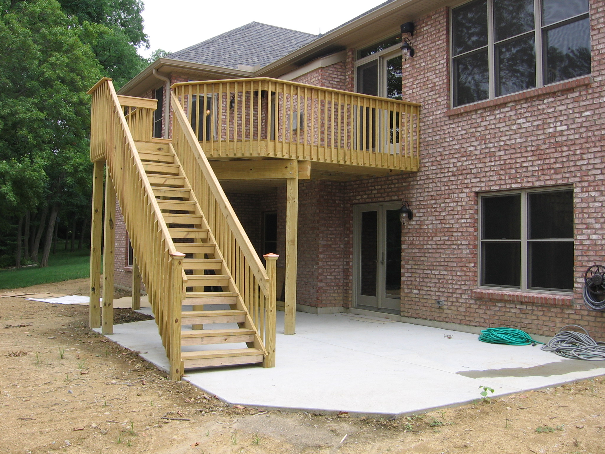 pictures of elevated deck plans photo - 2