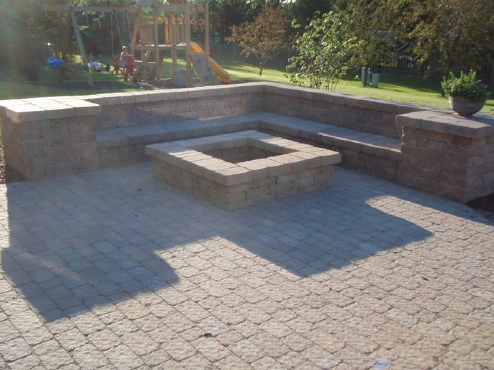 pictures of patio fire pit ideas Design and Ideas
