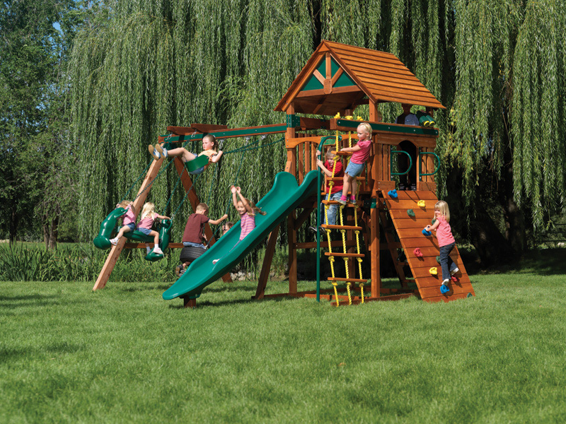 Backyard Playground Design Ideas