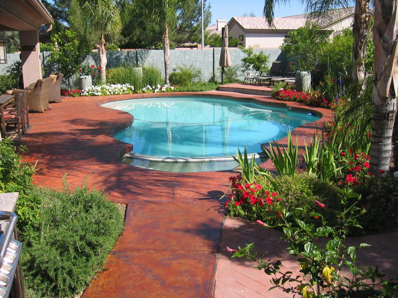 pool deck paint colors  photo - 1