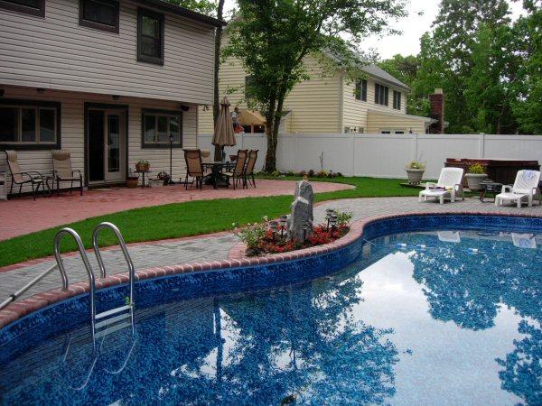 Marvelous Pool Patio Landscape Ideas