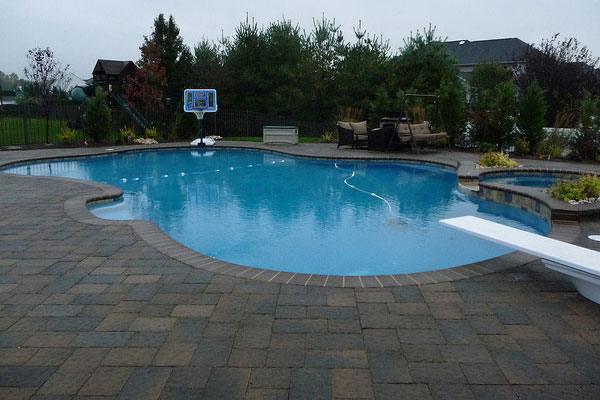 Paver patio around fire pit design and ideas for Pool paving ideas