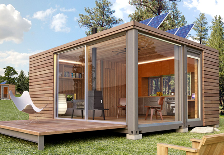 prefab container homes canada  photo - 1