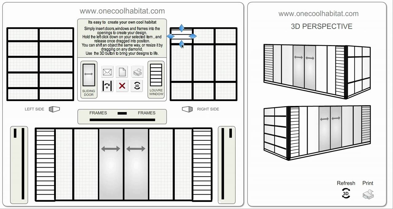 prefab shipping container home design tool  photo - 2