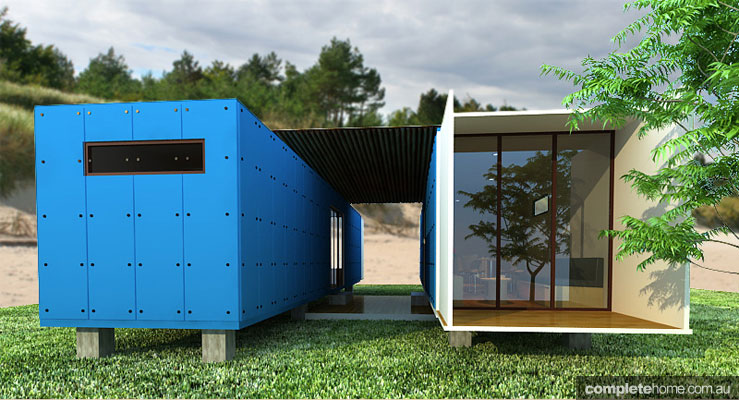 Prefab shipping container homes australia design and ideas for Prefabricated shipping container homes