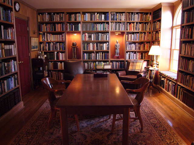 Private library design and ideas for Private library design