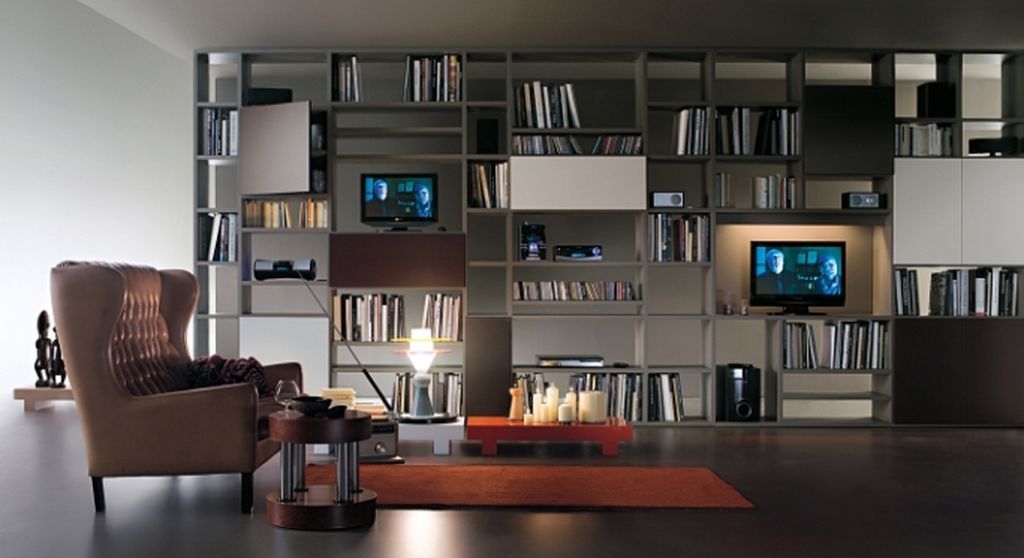 Private Library Design Ideas Comfortable Study photo - 1