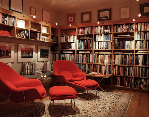 Private library design ideas english library design and for Private library design