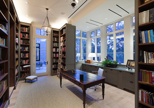 Private Library Design Ideas Family Design photo - 3
