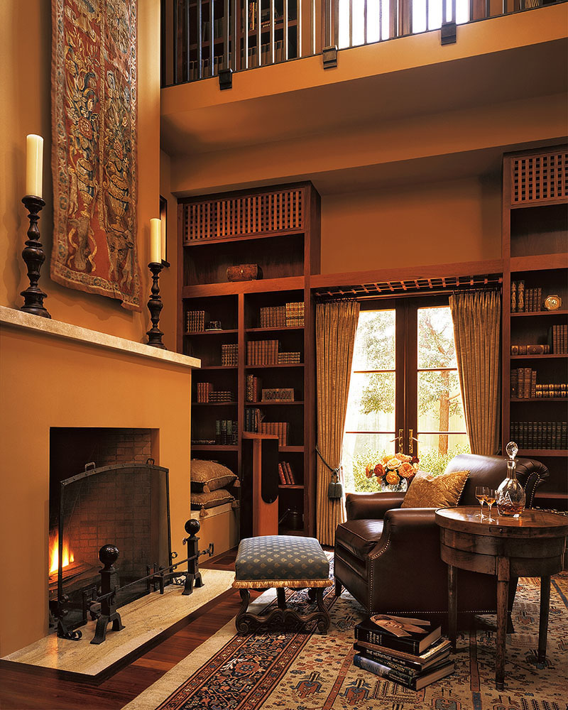 Private Library Design Ideas Masculine Photo