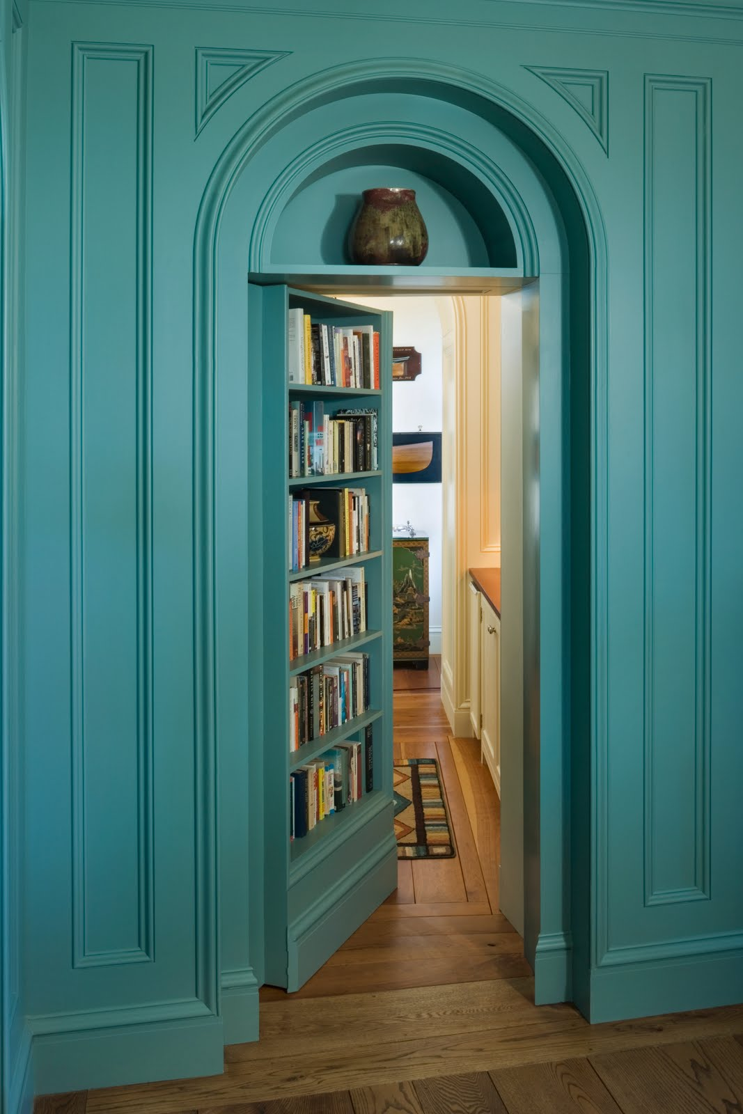 Private Library Door