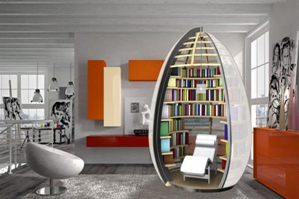 Tremendous Small Home Library Design Edeprem Com Largest Home Design Picture Inspirations Pitcheantrous
