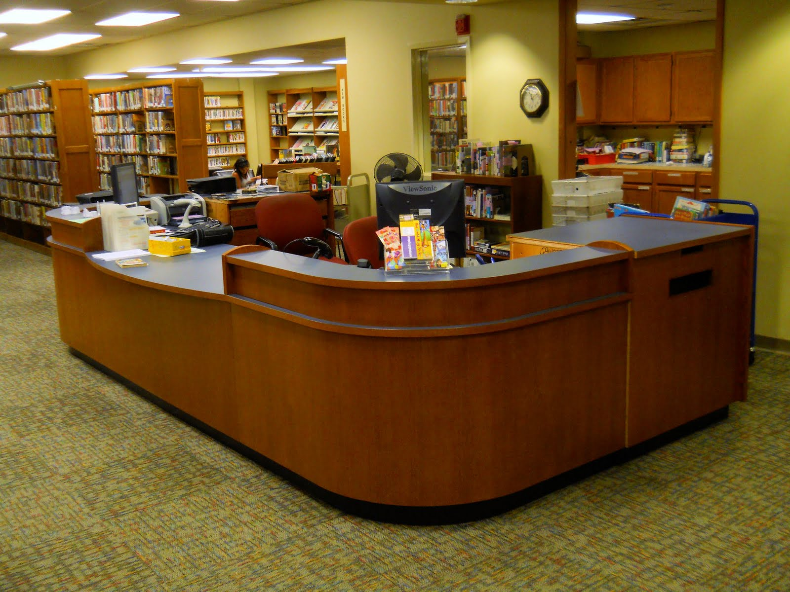 Private Library Parts Information Desk